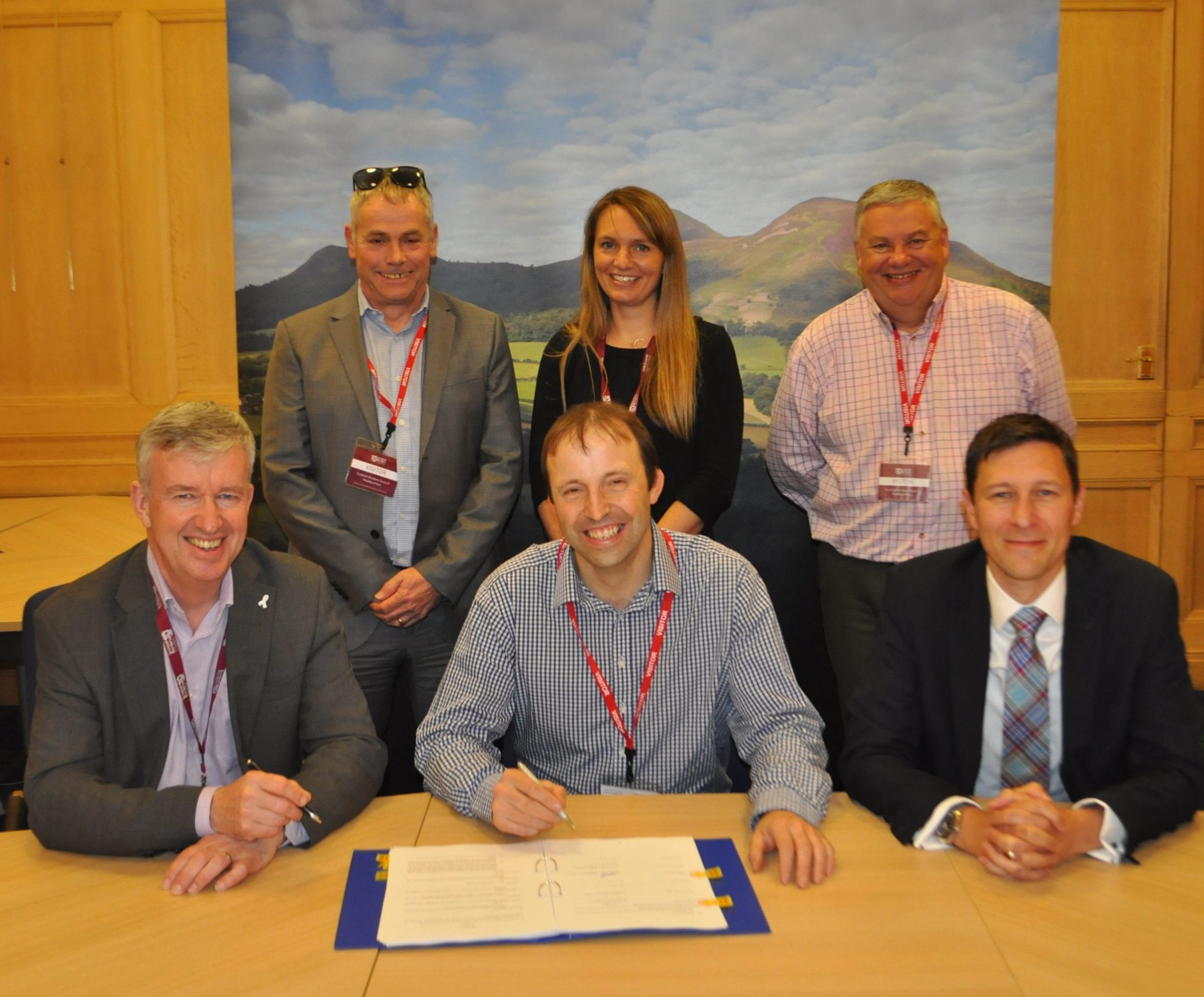 Levenseat win Scottish borders contract